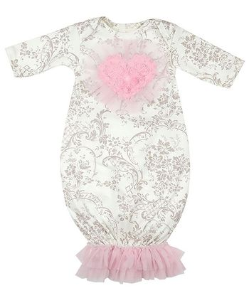Haute Baby Hugs 'N Kisses Newborn Gown SOLD OUT