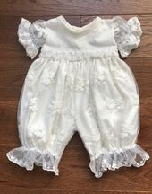 Haute Baby Ivory Heirloom Bubble Dress (Sizes 3Mos to 24Mos)