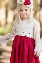 Haute Baby Lace Top (2T,4T,4,5,8)