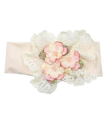 Haute Baby Peach Blush Headband