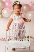 Haute Baby Pinkalicious Romper (0-3Mos & 3-6Mos)