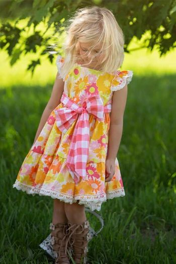 Haute Baby Summer Dress Polly Picnic SOLD OUT