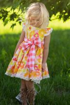 Haute Baby Summer Dress Polly Picnic