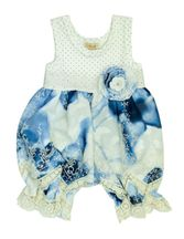 Haute Baby Summer Song Bubble Romper (6-9Mos,12Mos,18Mos,24Mos)