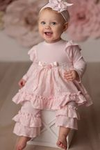 Haute Baby Sweet Rose Swing Set (6-9Mos & 12Mos)