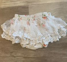 Haute Baby Tiny Petals Diaper Cover