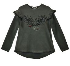 Mayoral Heart of Rock in Roll Top (Size 2)