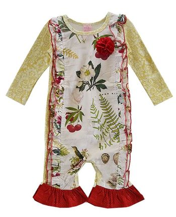 Holiday Infant Romper Gifts From Heaven