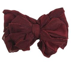 In Awe Couture Burgundy Head Wrap