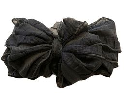 In Awe Couture Headband Dark Gray