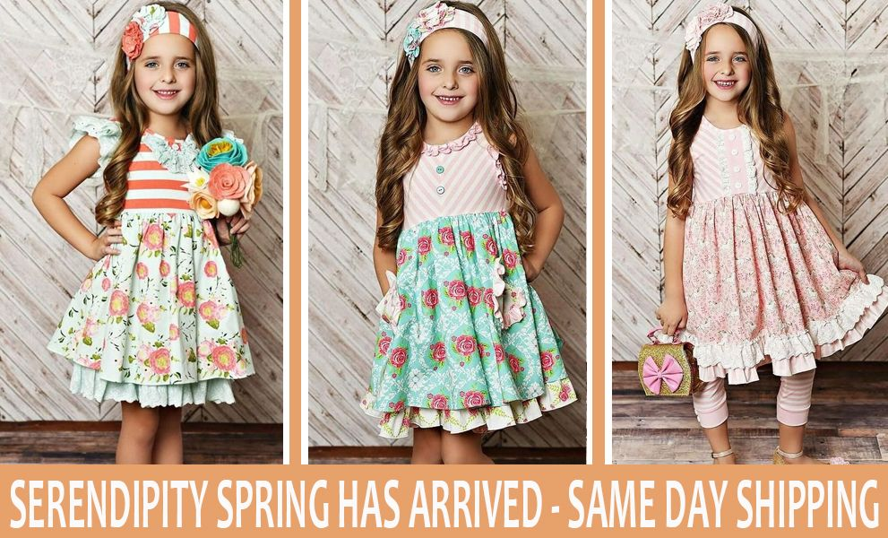 Boutique Clothing for Kids - Girls Designer Clothes