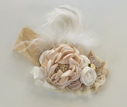 Ivory Girls Couture Headband