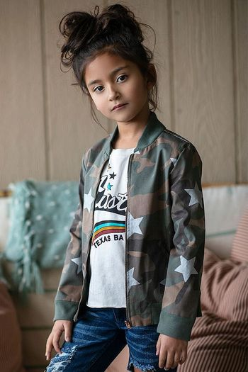 Jak and Peppar Bomber Camo Jacket Jimmy Thing (2T,3T,4T,4,6X)