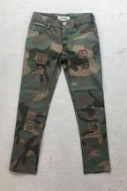 Jak and Peppar Camo Skinnies for Girls (2T,5,6,7)