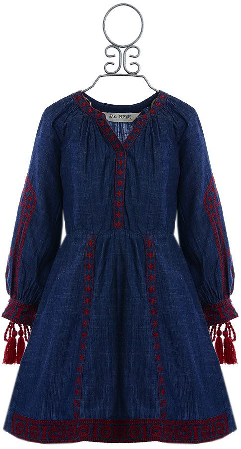 Jak And Peppar Jagger Dress For Girls Size 4