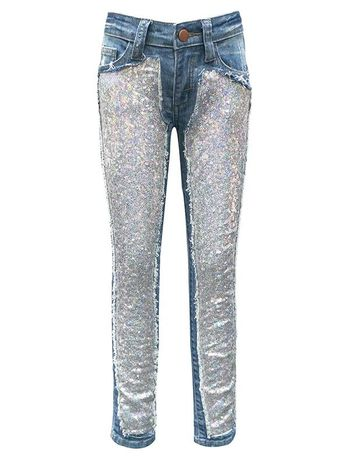 Jeans That Add Some Sparkle (8,10,12)