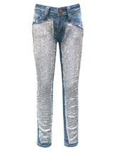 Jeans That Add Some Sparkle (Size 10)