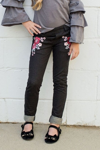 Joyfolie Alexandria Jeggings Black (6 & 14)