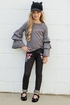 Joyfolie Alexandria Jeggings Black (6 & 14) Alternate View