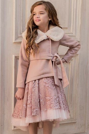 Joyfolie Victoria Jacket in Blush (4,5,6)