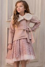 Joyfolie Victoria Jacket in Blush