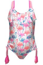 Kate Mack Flamingo One Piece Swimwuit (2T,4T,5)