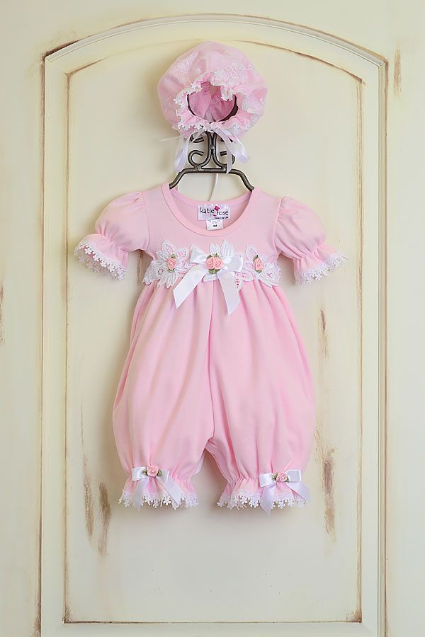 Baby Girls Katie Rose Special Occasion Romper Get It Here