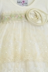 Katie Rose Ivory Baby Bloomer Dress with Flowers SOLD OUT Alternate View #2