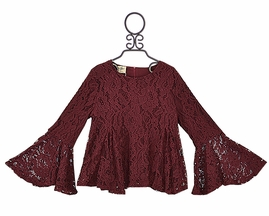 Lace and Ruffles Tween Top (8,10,12,14)