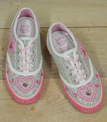 Lelli Kelly Be Still My Heart Shoes (Size 9)