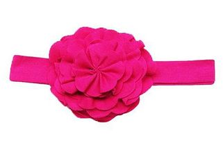 Lemon Loves Lime Fuchsia Headband