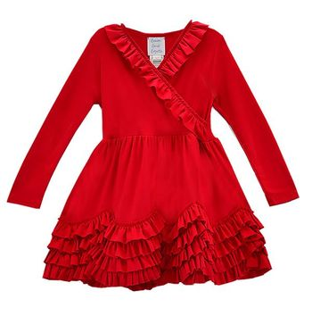 Lemon Loves Lime Grace Red Baby Dress SOLD OUT