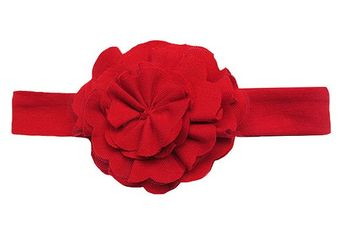 Lemon Loves Lime Lily Pad Headband Red