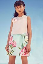 LiaLea Big Rose Skirt Set for Tweens (Size 7/8)