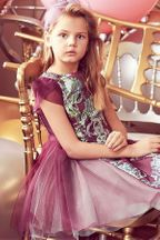 LiaLea Purple Dress For Little Girls (2 & 3)