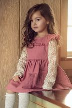 Little Prim Ivy Jumper in Rose
