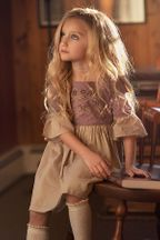 Little Prim Juliet Dress Plum