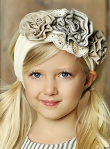 Little Prim Lilly Headband Vanilla (Infant & Tween)