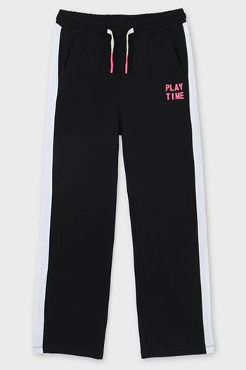 Mayoral Black Athletic Pant for Tweens