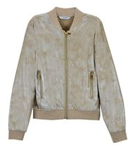 Mayoral Bomber Jacket in Gold for Girls (8,10,12,14)