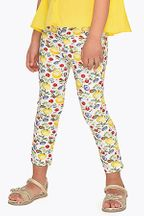 Mayoral Floral Fruit Patterned Pants (7 & 8)