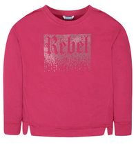 Mayoral Fuchsia Rebel Sweatshirt (Size 10)