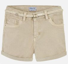 Mayoral Girls Khaki Denim Short (10,12,14)