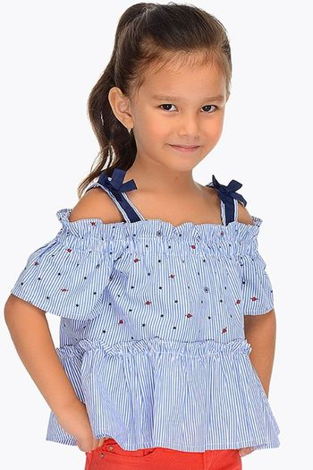 Mayoral Girls Nautical Top (6 & 7)