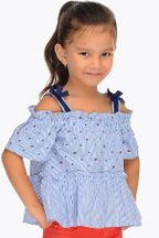 Mayoral Girls Nautical Top (Size 2 to 8)