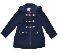 Mayoral Girls Navy Winter Trench Coat