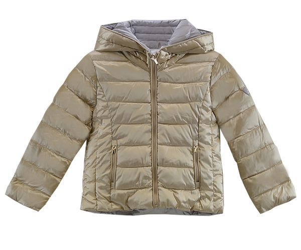 158a1c66f Mayoral Girls Puffer Coat in Gold Reversible (7