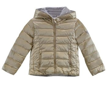 Mayoral Girls Puffer Coat in Gold Reversible (7,10,12)