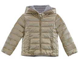 Mayoral Girls Puffer Coat in Gold Reversible (4,7,10,12)