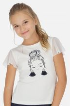 Mayoral Glamour Girl Tee (Size 12)